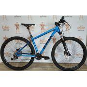 Bicicleta RAVA Cave 29 - 18v Shimano Alívio - Freio Hidráulico - Suspensão com trava no Guidão