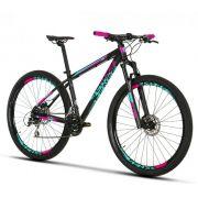 Bicicleta SENSE Fun aro 29 - 24v Shimano Acera - Freio Shimano Hidráulico - Suspensão RST Blaze 100 mm