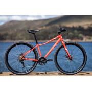 Bicicleta SENSE Move Urban 2020 - 21v Shimano Tourney - Laranja/Branco