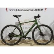 Bicicleta ABSOLUTE All Road Urbana - 8v MicroShift Acolyte K7 12/46 dentes - Freio Shimano Hidráulico - Tam.52