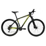 Bicicleta TSW Awe aro 29 - 20v Shimano Deore - Freio Shimano Hidráulico - Suspensão GTA Black Air c/trava guidão