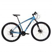 Bicicleta TSW Huch Plus aro 29 2019 - 27v Shimano - Freio Hidráulico - Azul