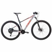 Bicicleta TSW Hurry Ultra 29 2020 - 22v Shimano SLX / XT - Freio Shimano Hidráulico - Cinza/Vemelho