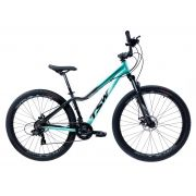 Bicicleta TSW Posh aro 29 2019 - 21v Shimano - Freio a Disco - Turquesa