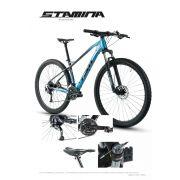 Bicicleta TSW Stamina aro 29 - 27v Shimano Alívio - Freio Shimano Hidráulico - Lançamento TSW linha 2020 - Azul/cz/pto