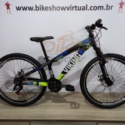 Bicicleta Viking Tuff aro 26 - 21v Veloforce - Freio a Disco - Suspensão Dianteira