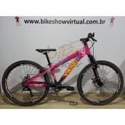 Bicicleta VIKING Tuff X-25 aro 26 - 7v Shimano Tourney - Freio a Disco VeloForce - Suspensão Paco