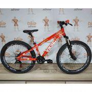 Bicicleta VIKING Tuff  X25 aro 26 - 21v Shimano Tourney - Suspensão Voox 120mm curso - Freio Shimano Hidráulico