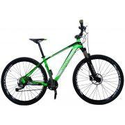 Bicicleta VIKINGX Futura aro 29 - 27v Shimano Acera - Freio Shimano Hidráulico