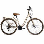 Bicicleta GROOVE Urban aro 700 - 21v Shimano Tourney - Freio a Disco - Suspensão dianteira