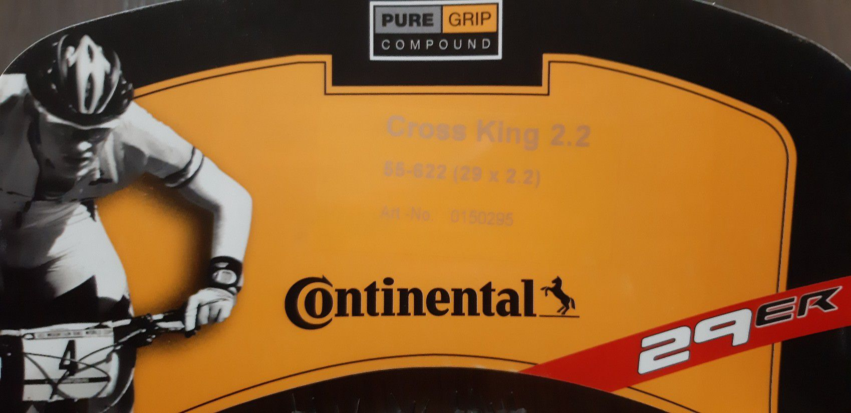 2 un. Pneus CONTINENTAL 29 x 2.2 Cross King Performance 2.2 Kevlar