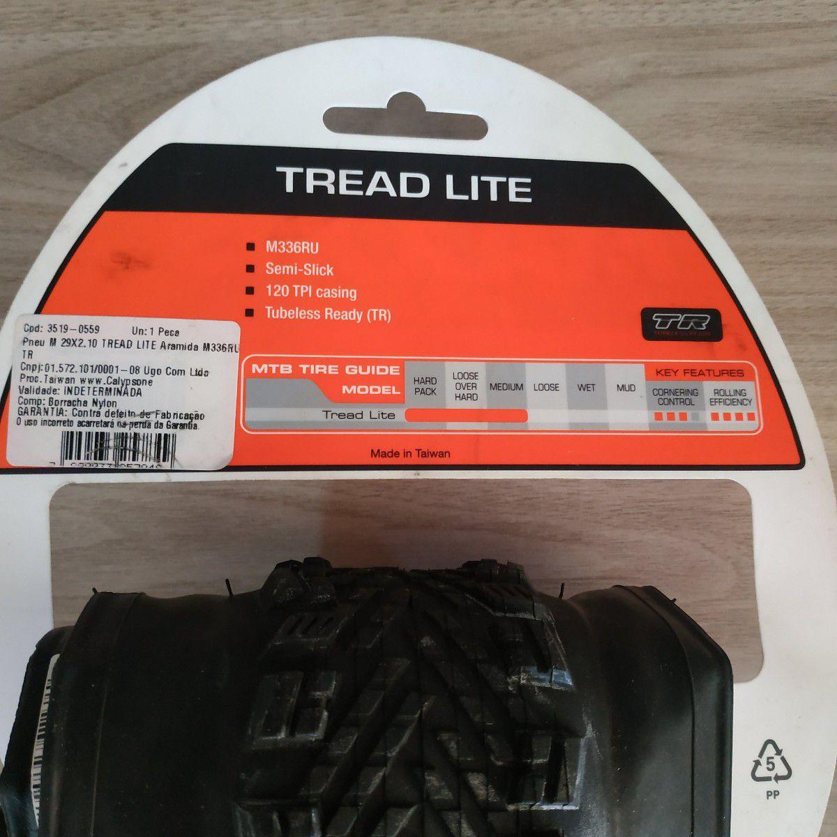 Pneu Bicicleta MAXXIS 29 x 2.10 Tread Lite Kvlar - 120 TP