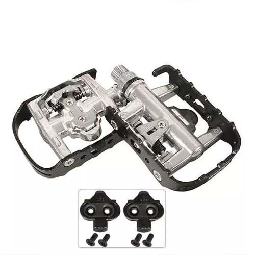 Pedal Clip Alumínio C/rolamento GTA Fp101s Com Tacos