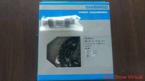 Pedivela SHIMANO 10v FC-M523 Com Movimento Central Ll113 Mm