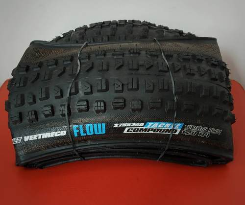 Par Pneus VEE TIRE CO Flow 27,5 X 2,40 Kevlar Tubeless