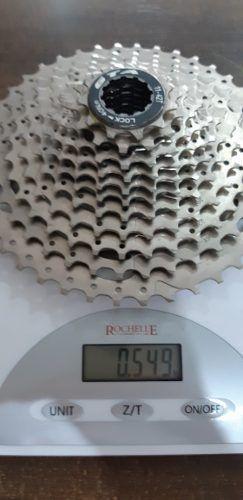 Cassete GTA 10 Velocidades 11/42 Dentes Index Niquelado