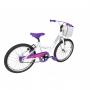 Bicicleta CALOI Ceci aro 20 com Cesta cor Branca