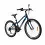 Bicicleta CALOI Max aro 24 - 21v Caloi - Freios V-brake em Alumínio - Azul