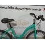 Bicicleta ECOS Slim aro 26 - 7v Shimano Tourney - Cubo TWA de Rolamento - Rodas Aro Aero