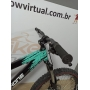 Bicicleta HIGH ONE Joker aro 26 - 8v Shimano Tourney com Cubo K7 - Freio Absolute Hidraúlico - Suspensão Spinner 300 120mm
