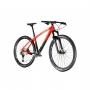 Bicicleta OGGI Agile Sport Carbon 2021 - 12v Shimano Deore - Suspensão Manitou Markhor - Vermelho/Preto