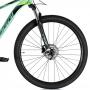 Bicicleta OGGI Big Wheel 7.0 aro 29 2021 - 18V Shimano Alivio - Freio Hidráulico - Verde Blue/Preto/Slime - A MELHOR DA CATEGORIA