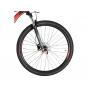 Bicicleta OGGI Big Wheel 7.1 2021 - 18v Shimano Alívio/Deore - Freio Hidráulico - Suspensão RockShox - Preto/Vermelho/Dourado