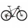 Bicicleta OGGI Big Wheel 7.4 2021 - 12v Shimano SLX - K7 10/51 dentes - Suspensão Manitou Machete a AR - Preto/Vermelho/Grafite