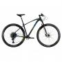 Bicicleta OGGI Big Wheel 7.5 2021 - 12v Sram NX/GX - K7 10/52 dentes - MELHOR DA CATEGORIA - Pto/Azul/Amar