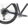 Bicicleta OGGI Big Wheel 7.6 Edição Limitada 2021 - 12v Sram GX - Suspensão FOX 32 Performance Step-Cast Evol com trava no Guidão - Preto/Azul/Grafite
