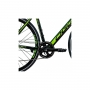 Bicicleta OGGI E-Bike Lite Tour E-500 - 8v Shimano Acera - Preto/Verde
