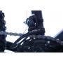 Bicicleta OGGI Hacker aro 24 - 21v Shimano Tourney - Freio a Disco - Preto/Vermelho