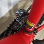 Bicicleta OGGI Hacker HDS 2021 - 24v Shimano Tourney - Freio Hidráulico - Vermelho/Amarelo/Preto + BRINDES