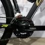 Bicicleta OGGI Hacker Sport 2021 - 21v Shimano Tourney - Freio a Disco - Preto/Amarelo/Dourado