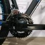 Bicicleta OGGI Hacker Sport 2021 - 21v Shimano Tourney - Freio a Disco - Preto/Azul/Slime