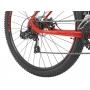 Bicicleta OGGI Hacker Sport 2021 - 21v Shimano Tourney - Freio a Disco - Vermelho/Vinho/Amarelo