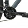 Bicicleta RAVA Pressure aro 29 2021 - 20v X-Time - Freio a Disco Hidráulico - Cinza/Preto - MELHOR CUSTO BENEFÍCIO