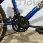Bicicleta SAMY aro 24 - 12v Shimano Tourney - Guidão com Mesa Cross 4 Parafusos - Roda aro Aero
