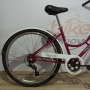 Bicicleta SAMY aro 26 - 7v Shimano - Cubo de Rolamento - Guidão com Mesa Cross 4 Parafusos - Aro Aero