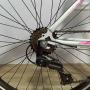 Bicicleta SAMY aro 26 - 7v Shimano - Freio V-brake em Alumínio - Guidão com Mesa Cross 4 Parafusos