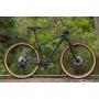 Bicicleta SENSE Impact Carbon Evo 2021 - 12v Shimano XT - Suspensão Fox Float 32 Performance 100mm - Cinza/Preto