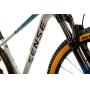 Bicicleta SENSE Impact Race aro 29 2021/22 - 12v Sram GX Eagle - K7 10/52 dentes - Suspensão Rock Shox Recon - Alum/Aqua