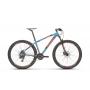 Bicicleta SENSE One 2021 - 21v Shimano Tourney - Freio a Disco Hidráulico - Aqua/Laranja