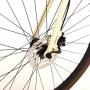 Bicicleta SENSE Urban Activ 2021 - 27v Shimano Altus - Freio Hidráulico - Creme/Preto