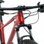 Bicicleta TSW Stamina aro 29 2022 - 18v Shimano Alívio - Freio Shimano Hidráulico - Verm Metálico/Pto + BRINDES