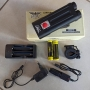 Farol 2 Super LED JWS JY-8845 CREE T6 Recarregável
