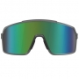 Óculos de Sol HB Grinder Matter Smoky Quartz - Lente Verde Espelhada