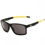 Óculos de Sol HB Mystify Matte Black Dark Amarelo