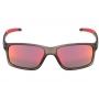 Óculos de Sol HB Mystify Matte Onyx - Lente Vermelha Espelhada