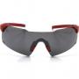 Óculos de Sol HB Quad V Matte Onyx - Lentes Prateadas